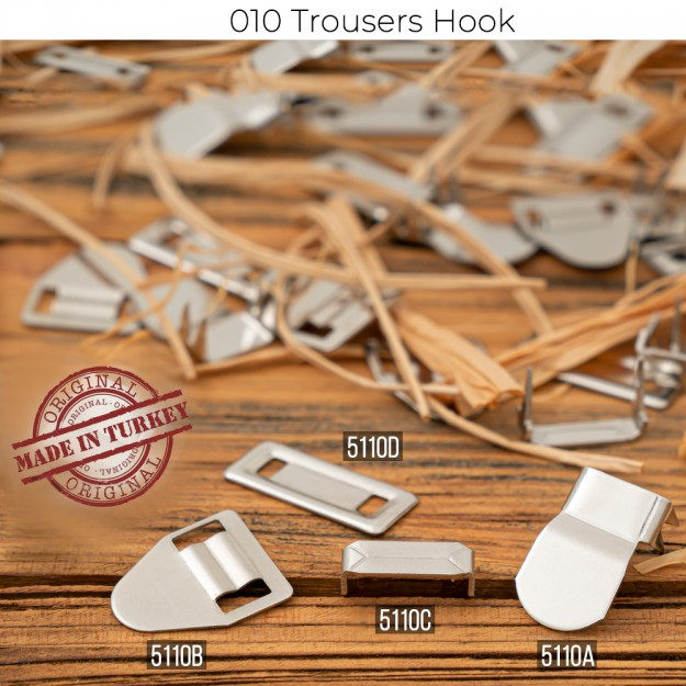 New Production - 010 Stainless Trousers Hooks