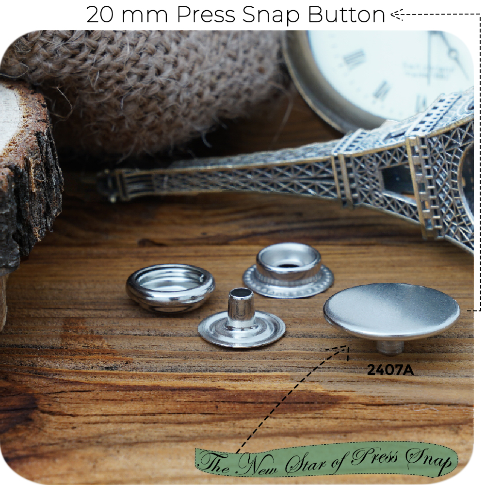 New Production - 20 mm Press Snap Button