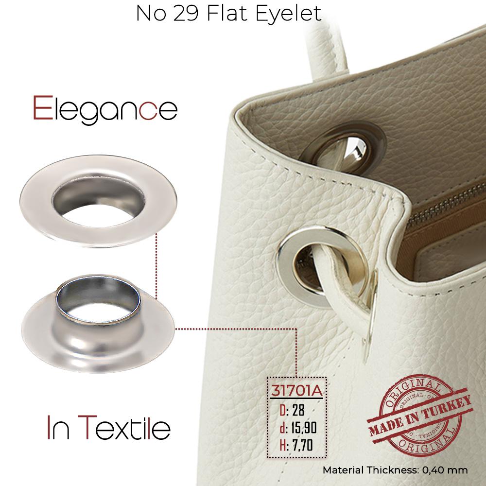 New Production - No 29 Flat Eyelet