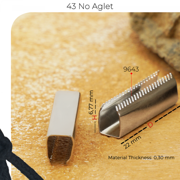 New Production - 43 No Aglet