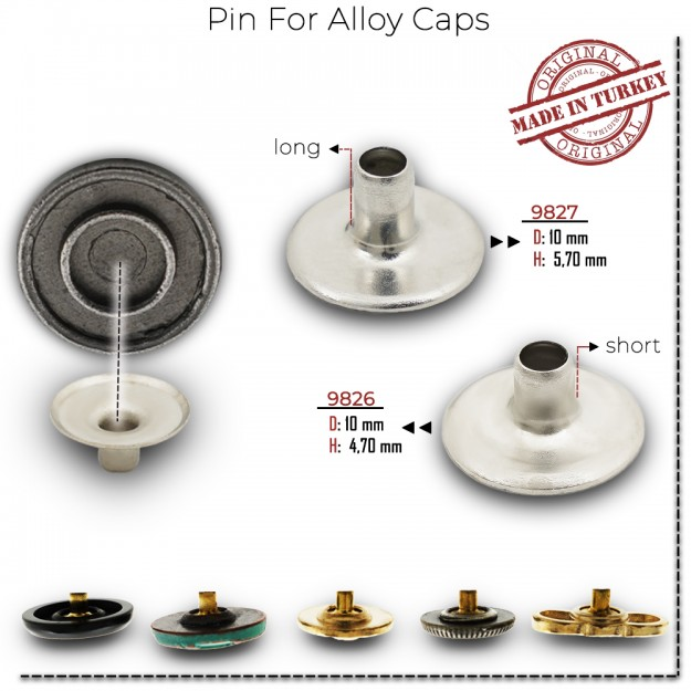 New Production - Pin for Alloy Caps
