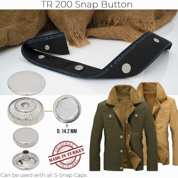New Production - TR 200 Snap Button