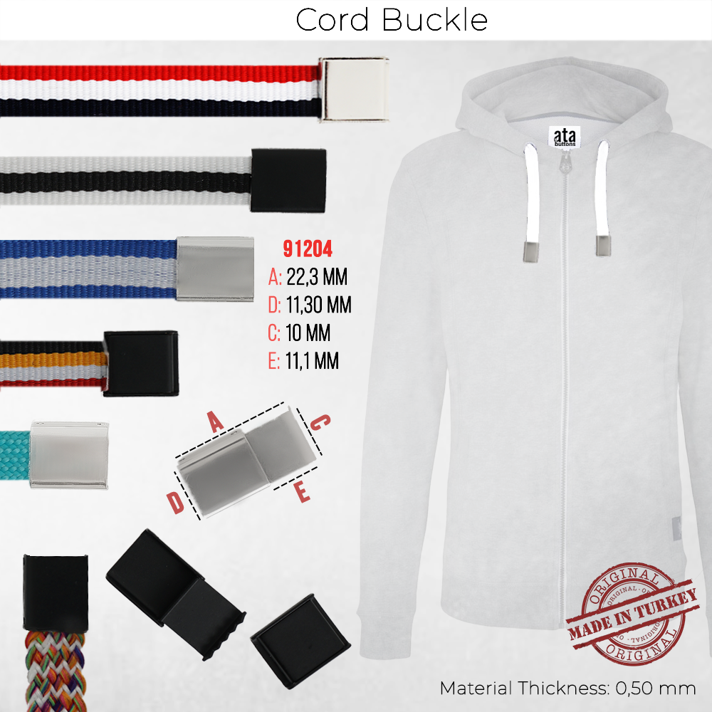 New Production - Cord Buckle