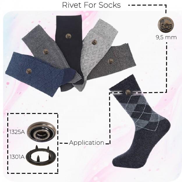 New Production - Rivet for Socks