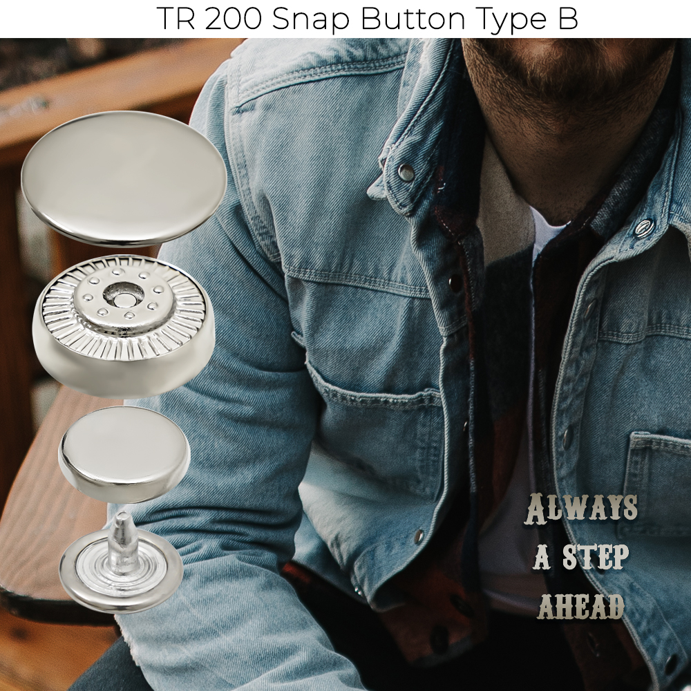 New Production - TR 200 Snap Button Type B