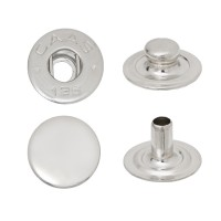 Spring Snap Button with Flat Socket