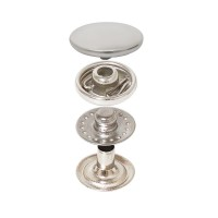 Vt2 Mini Spring Snap Button with Curved Coin Cap