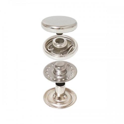 Vt2 Mini Spring Snap Button with Coin Cap