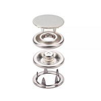 Prong Snap Button With Cap