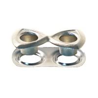 Shaped Eyelets In Brass