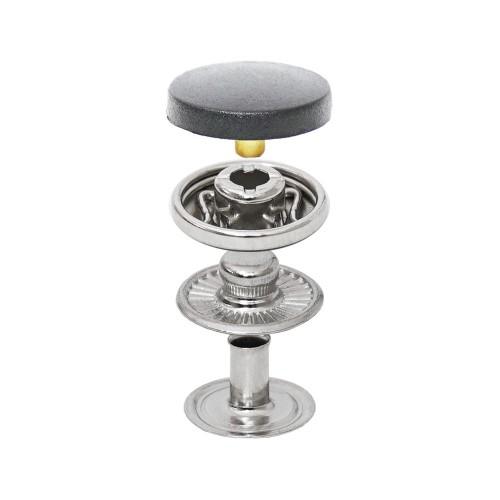 Spring Snap Button with Nylon Cap