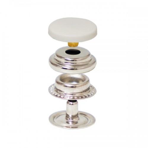 Press Snap Button with Nylon Cap