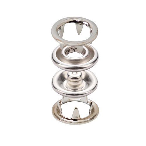 Stainless Prong Snap Button