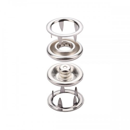 Prong Snap Button With Long Leg