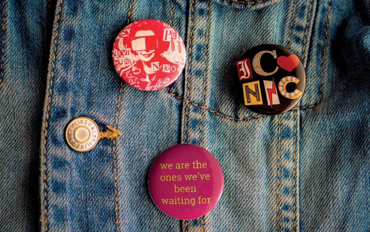 Badge Buttons