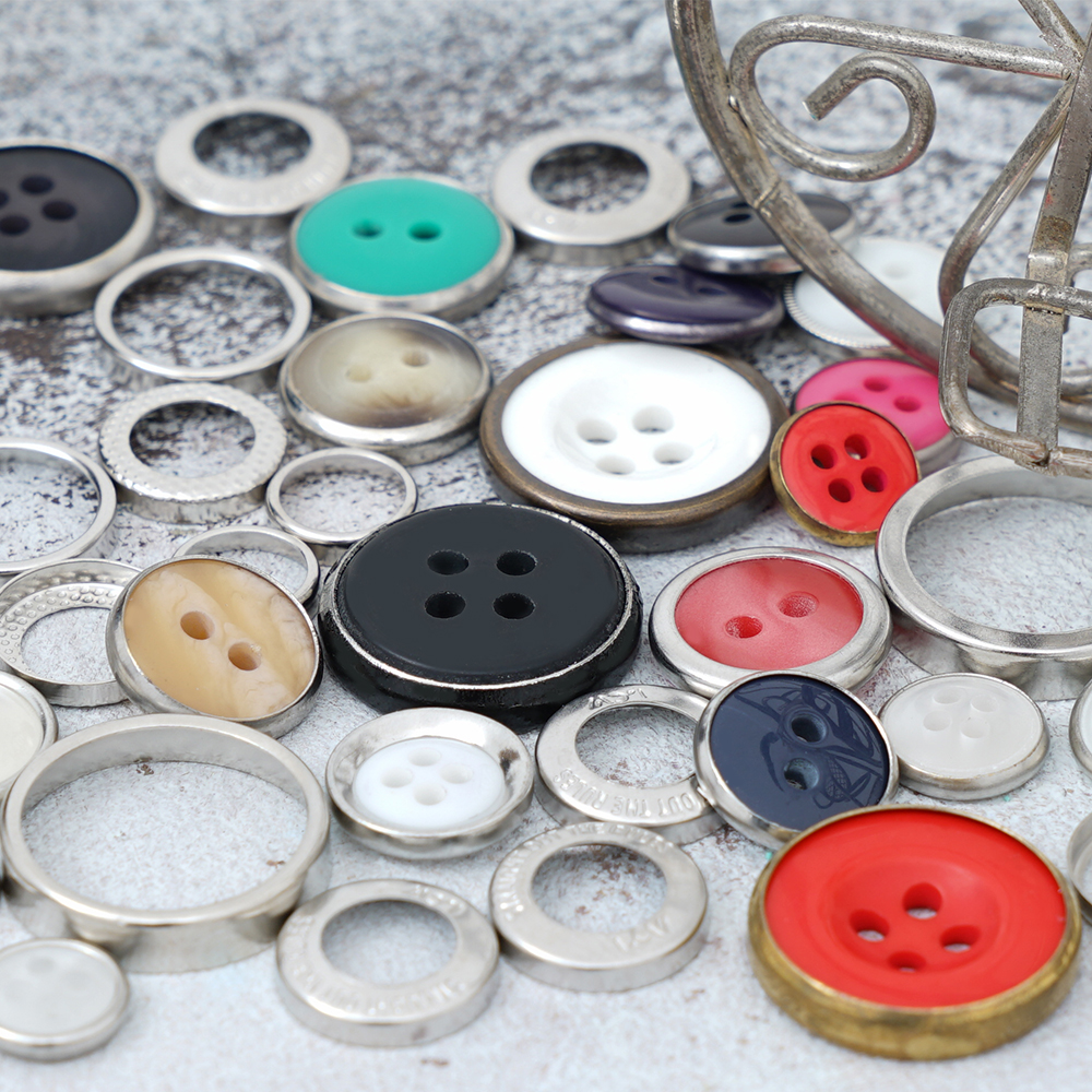 Brass Rings for Polyester Buttons